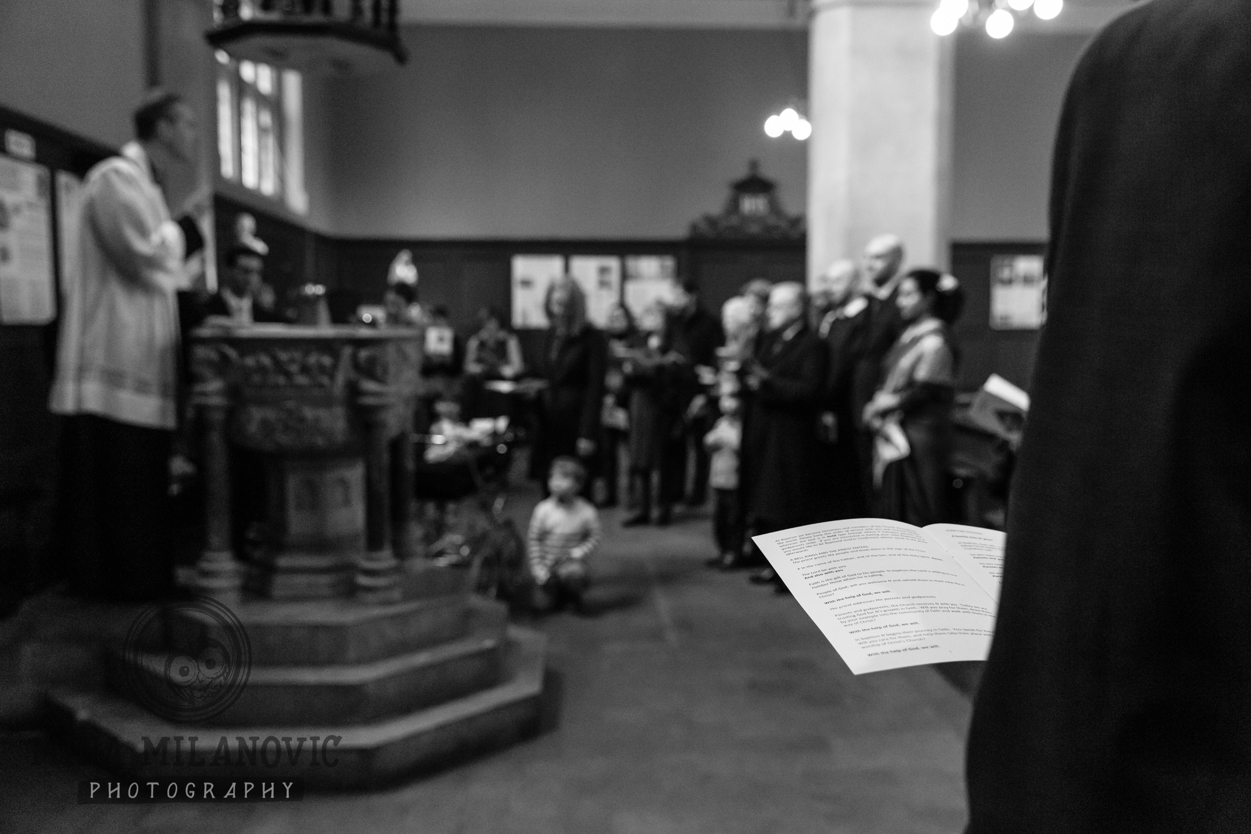 St Michael and All Angels church Chiswick, Richmond-upon-Thames Christening Photographer