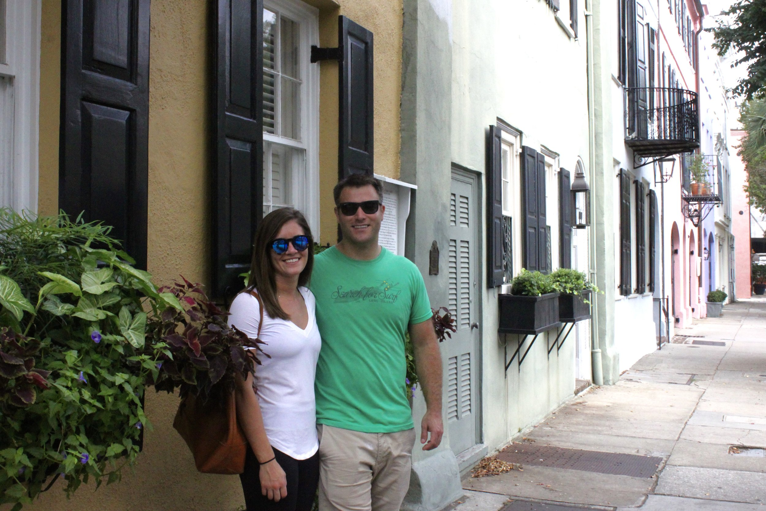 Happy One Year Anniversary to Mark & Jess visiting Charleston from Boston to celebrate. This is their first trip to the Holy City. With a few days ahead of them, lots of fun and good food awaits them.  Thank you both! Happy Anniversary!