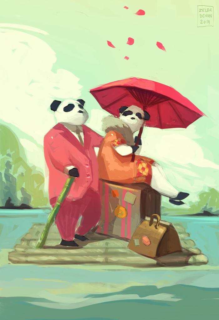 Traveling Pandas