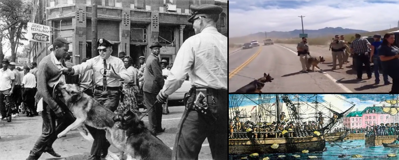 America has a long history of individuals who broke the law to stand up to injustice. Civil disobedience unfortunately is called terrorism by those who disagree with the protester's message.