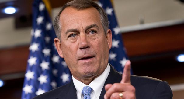 House Speaker John Boehner (R-OH).