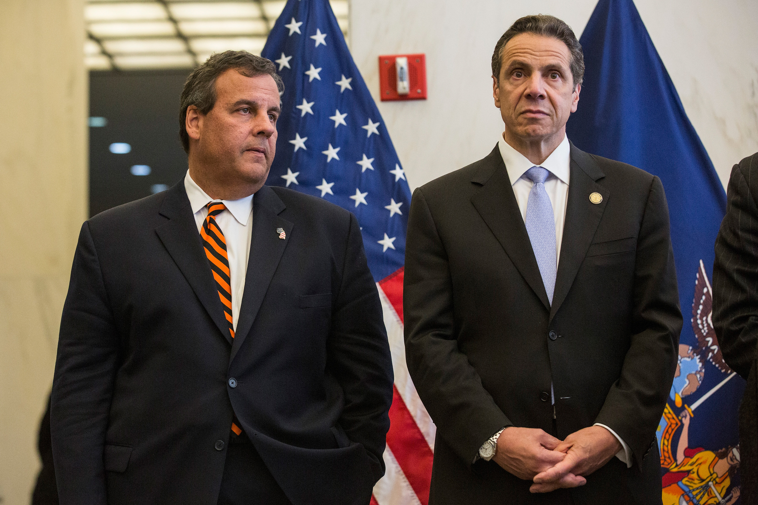 GOVERNORS CHRISTIE AND CUOMO ORDERED A BLANKET QUARANTINE LAST WEEK, THEN QUICKLY SOFTENED THEIR STANCE.