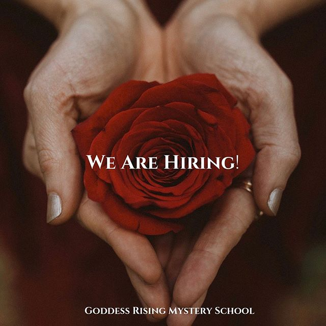 🌹WE ARE HIRING!🌹With all my Love, as Goddess Rising Rising Mystery School is E X P A N D I N G, we are calling forth a phenomenal sister to join our team! Applications are now open until August 1st. . 👑 CURRENT POSITION AVAILABLE 👑  Queen of Communications, Sister Client Care and Social Media Manager. . We are welcoming a sister who loves Goddess Rising to support the needs of our growth and evolution! . . This role is for someone who is a clear communicator, reliable, kind, savvy, organized and efficient, who loves getting to know new people and building community with deep passion and empathy. . . As Queen of Communications & Sister Client Care, you will be responsible for the Goddess Rising inbox, connecting and answering emails, making occasional phone calls, being the first gatekeeper for public relations, and client care with our Goddess Rising Sisters. You will provide assistance, solve any problems with grace, and offer technical support as needed. . And as Social Media Manager, you'll be managing our Goddess Rising Sisterhood Facebook Group and supporting with the growth and maintenance of our current and upcoming social media accounts. You will bridge communications / events / posts between our website and social media. Our community will get to know and love you and you'll be recognized as a reliable face to come to for communication and support. . . If you're someone who is in alignment with our mission,  loves to roll up your sleeves and jump in where help is needed, is attuned to the lunar cycles and we'd love for you to apply to be our next team member. . 💎CLICK LINK IN BIO💎 to read about the position, pre-requisites and to apply. Applications are welcomed until August 1. . With all my Love, Achintya . #priestesspath #goddessrising #togetherwerise