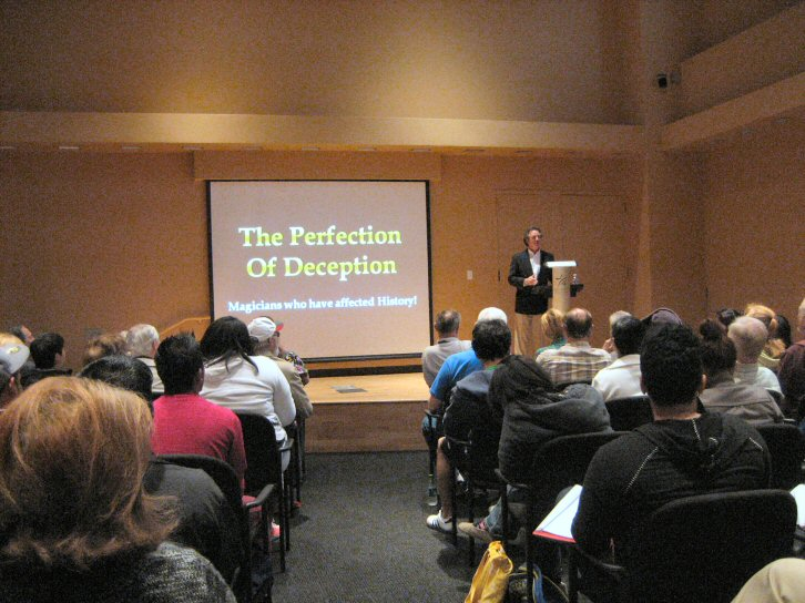 The Perfection of Deception - A Lecture by Harry Maurer