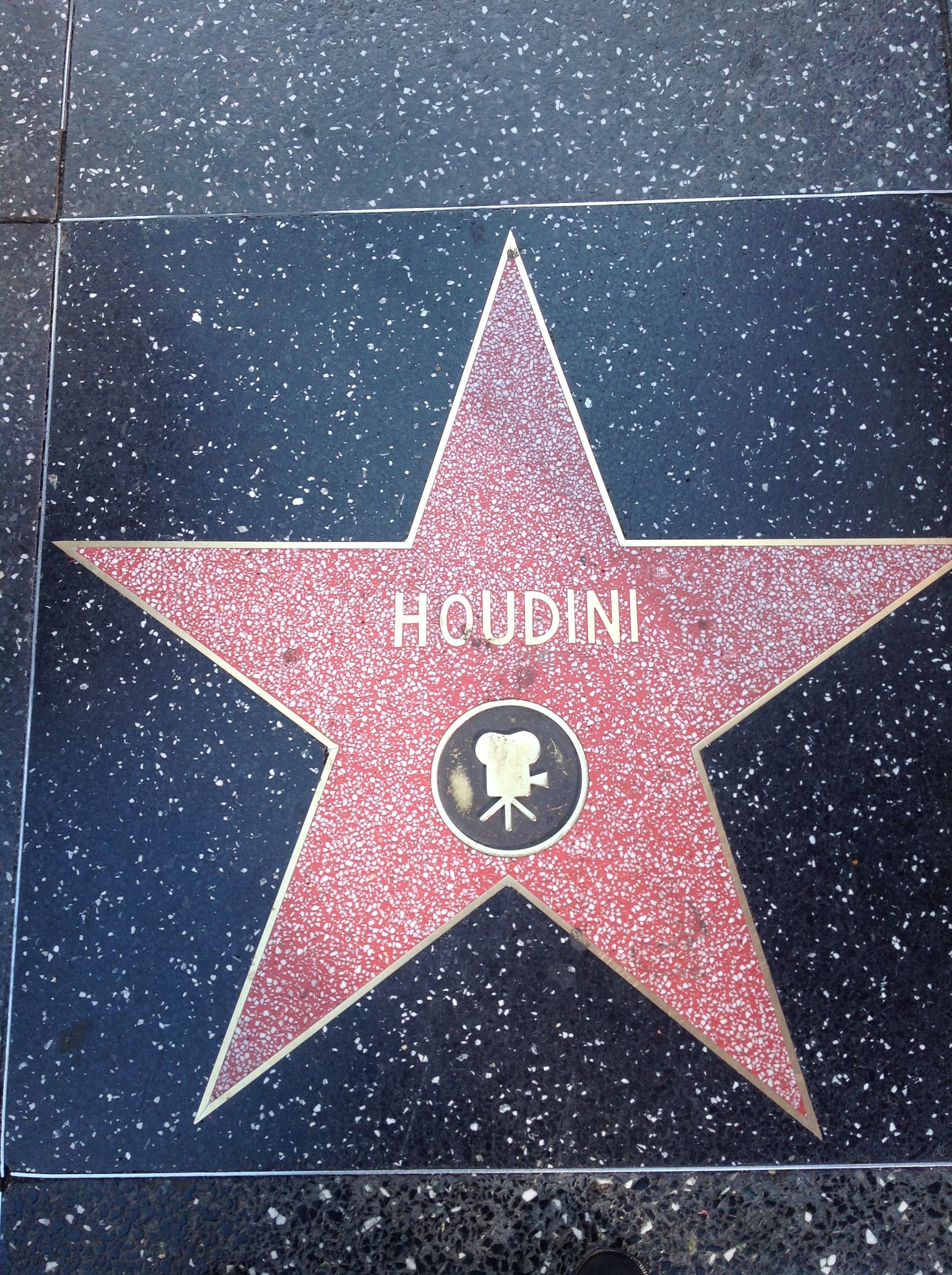 Houdini's Star on the Walk of Fame