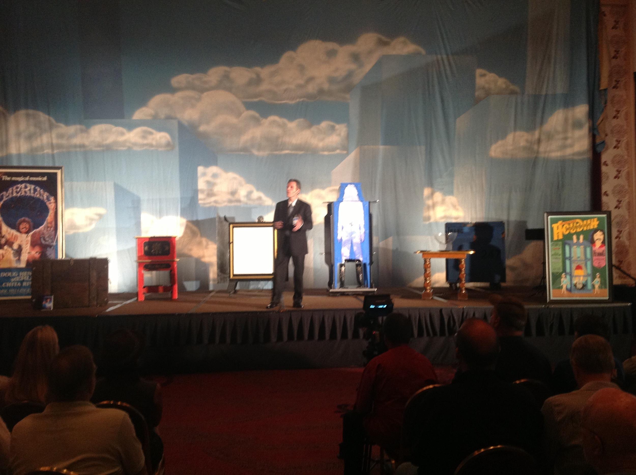 Chip Romero Presenta a Lecture on Doug Henning