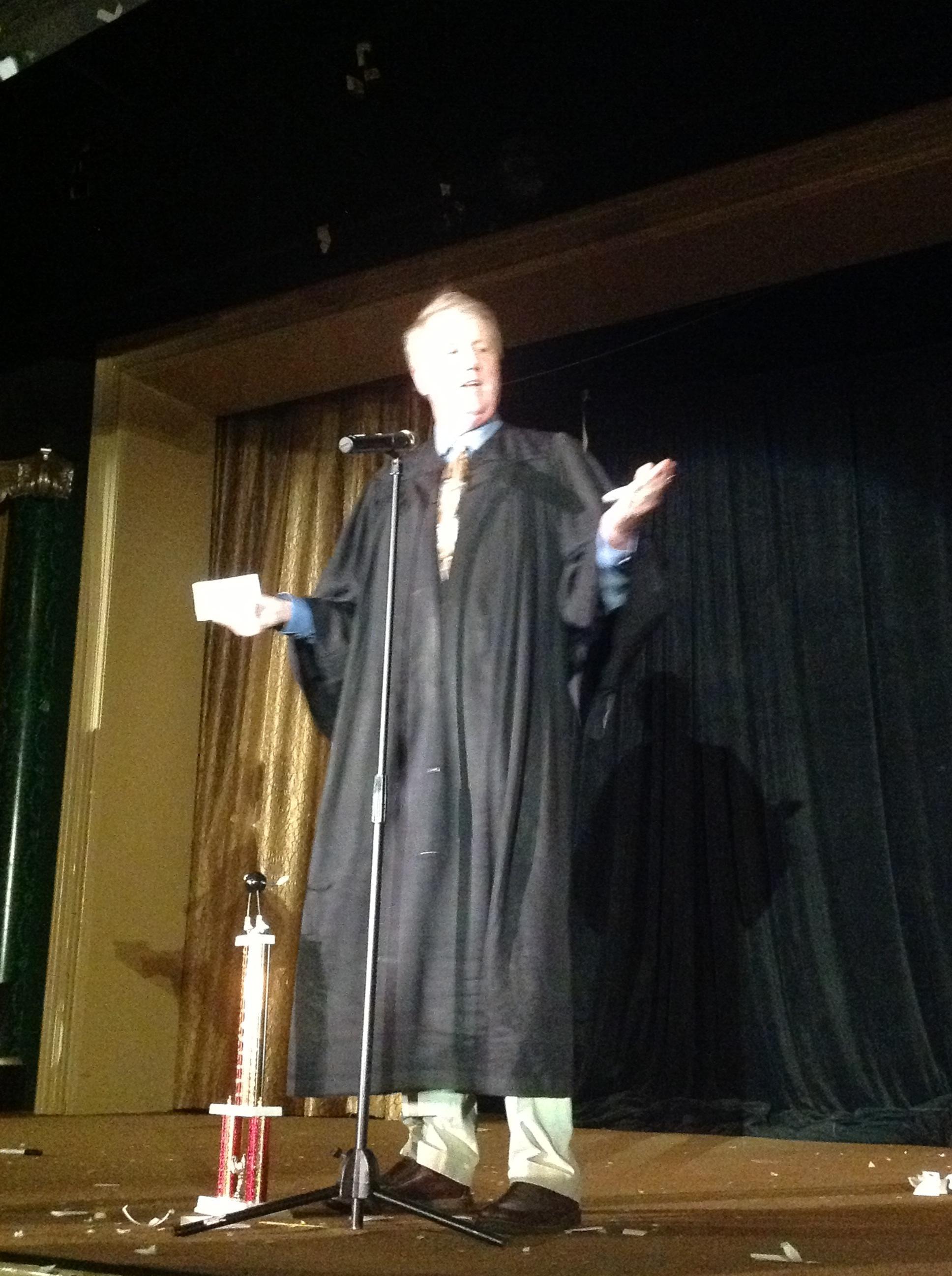 Judge Harry Anderson