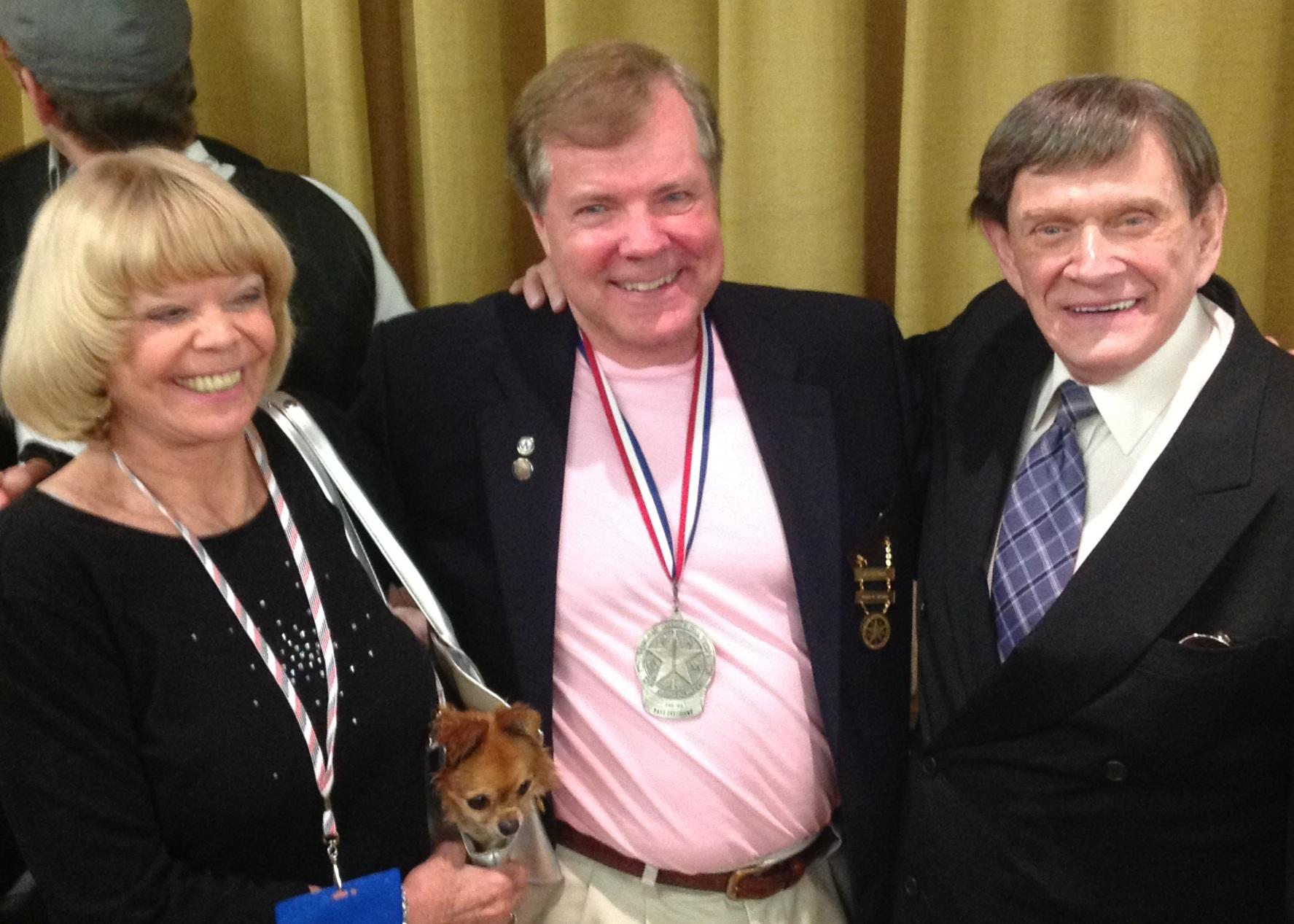 Pam Thompson, Scott Wells and Johnny Thompson