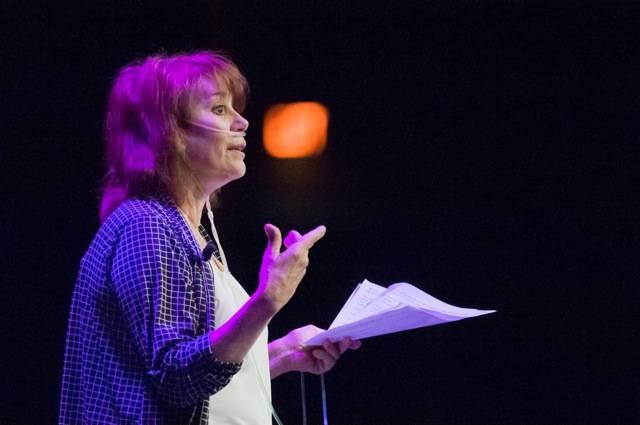 Joanie Spina at MAGIC Live! Photo courtesy of David Linsell