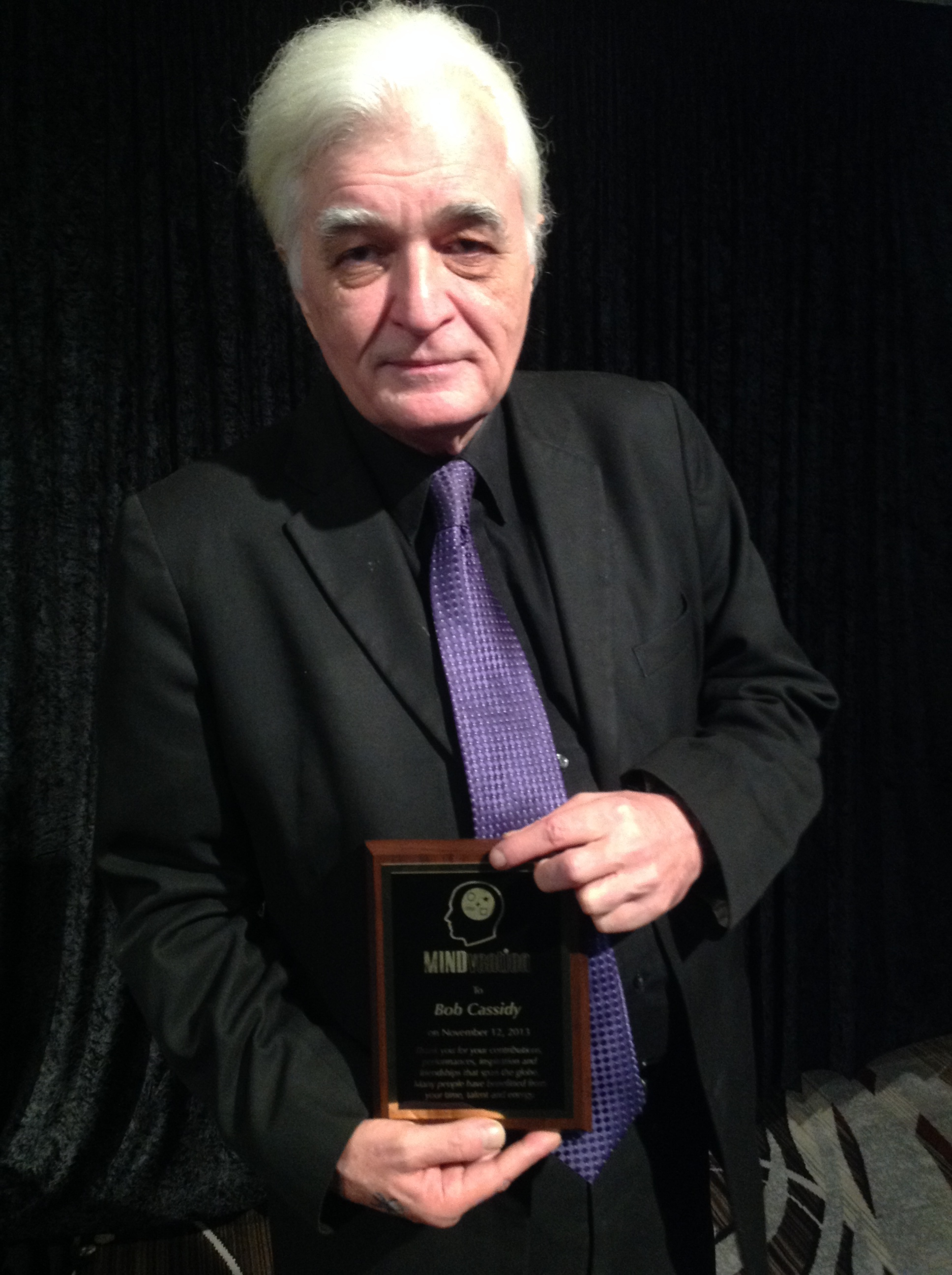 Bob Cassidy receives Lifetime Achievement Award