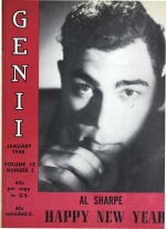 Al Sharpe on the cover of Genii