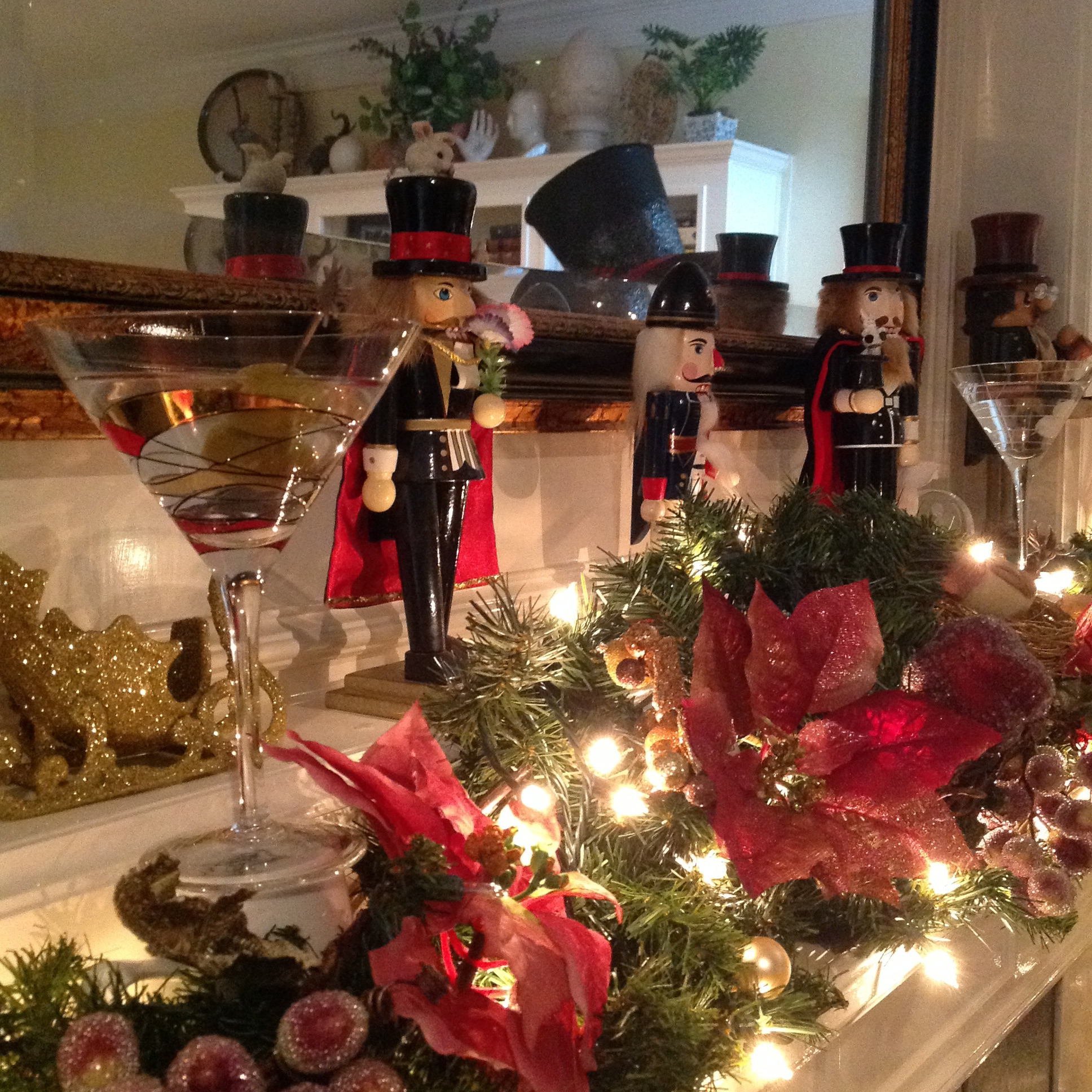 """Holiday """"spirits"""" - magic themed nutcrackers and martinis"""