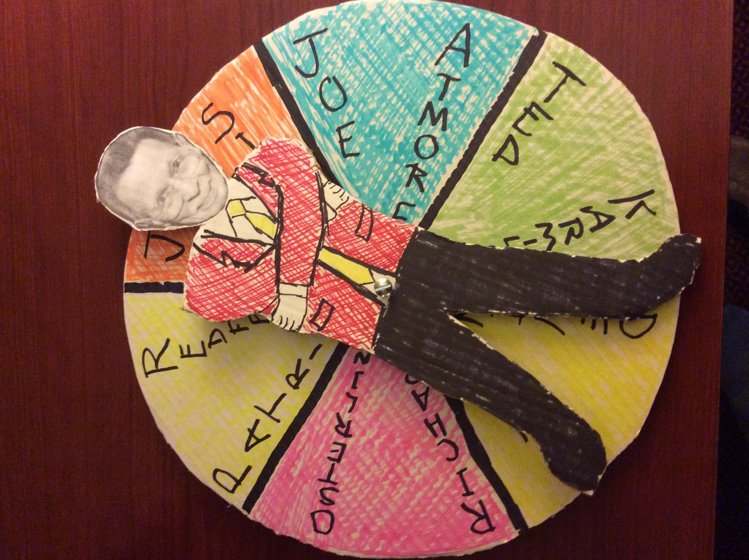 """Tony Spina """"Spinner"""" Board"""