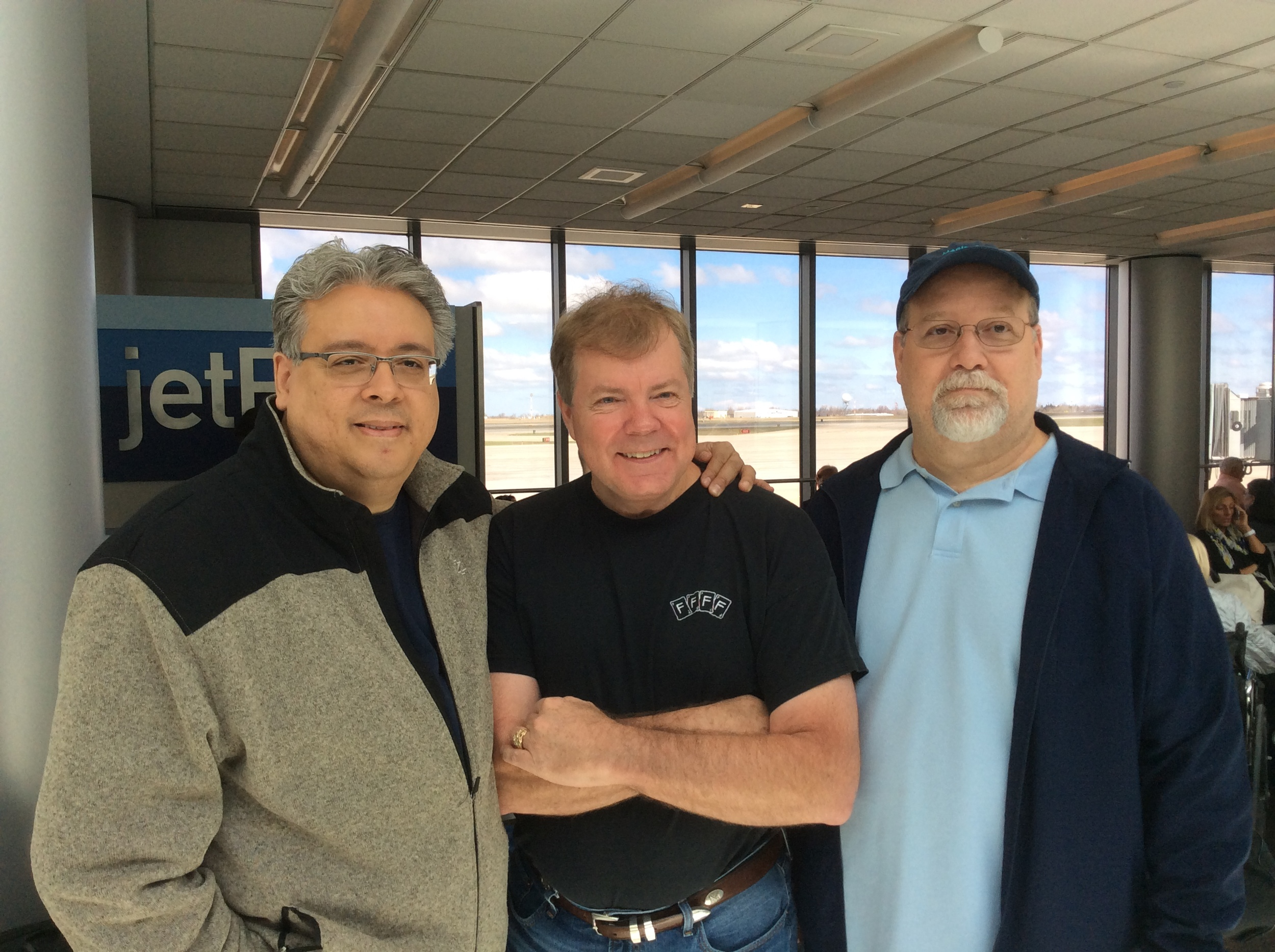 Eric DeCamps, Scott Wells and Gary Plants