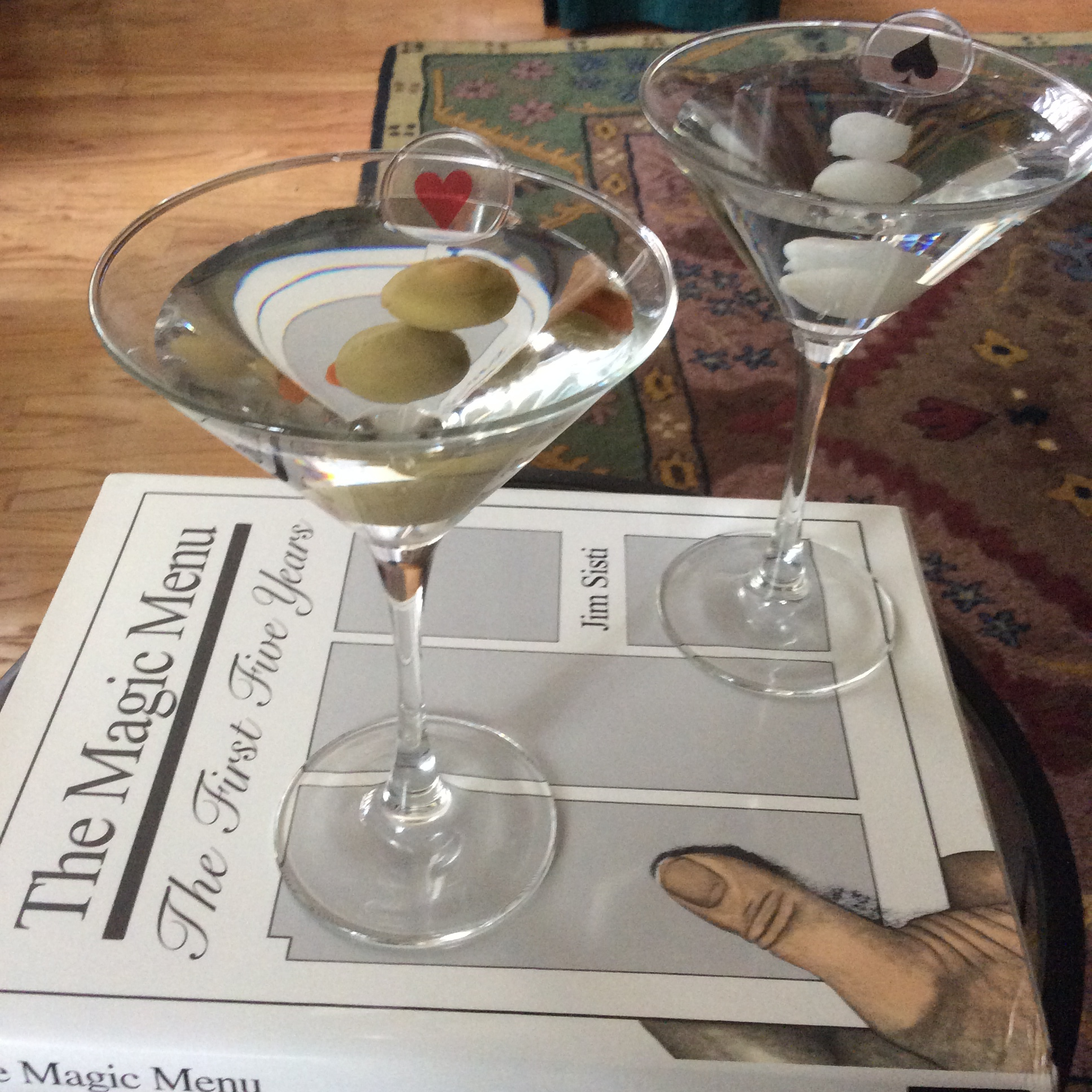 Martinis on the Menu