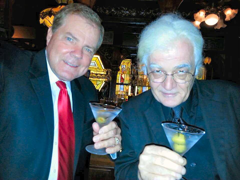 Scott Wells with Vigo the Carpathian, I mean, Bob Cassidy. Cheers!