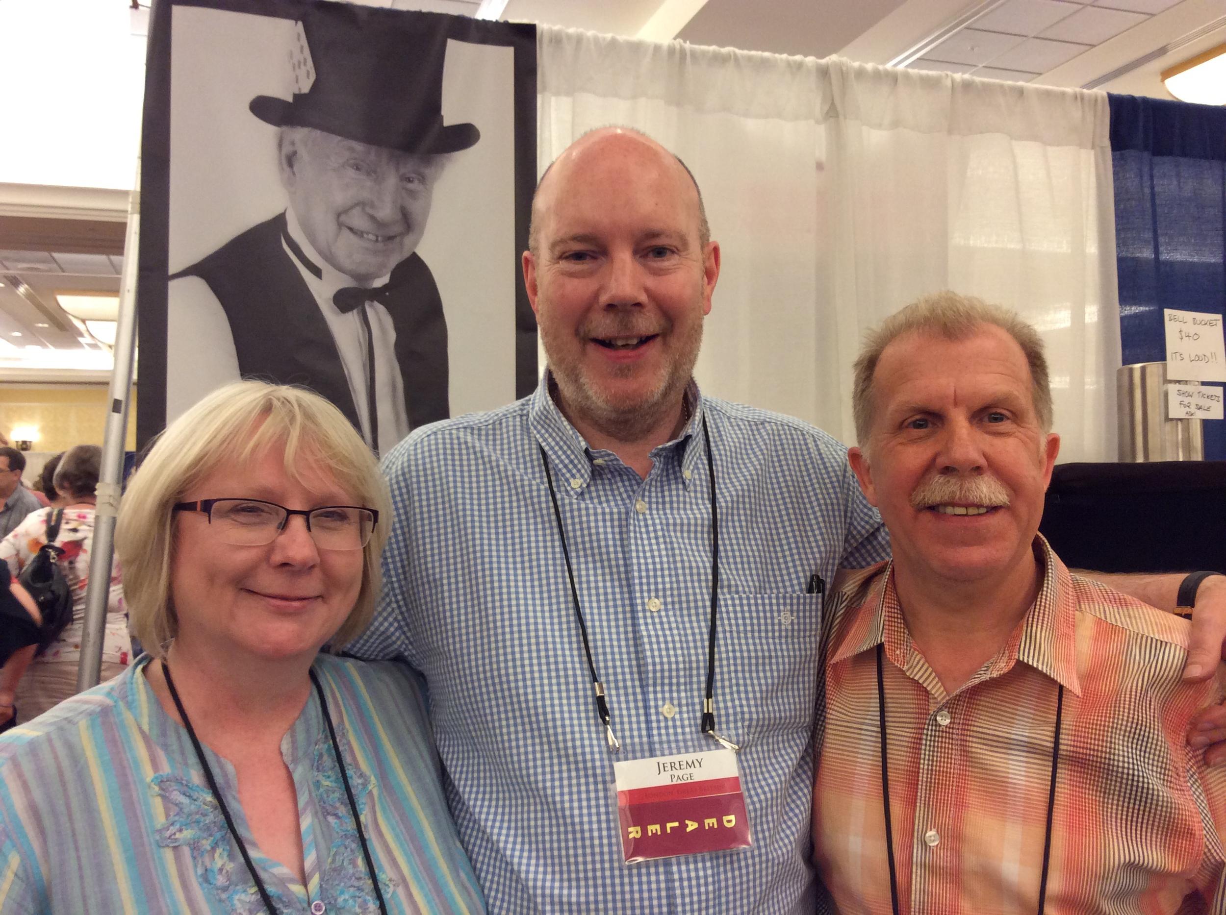 Janette Page, Jeremy Page, & Phillip Pound