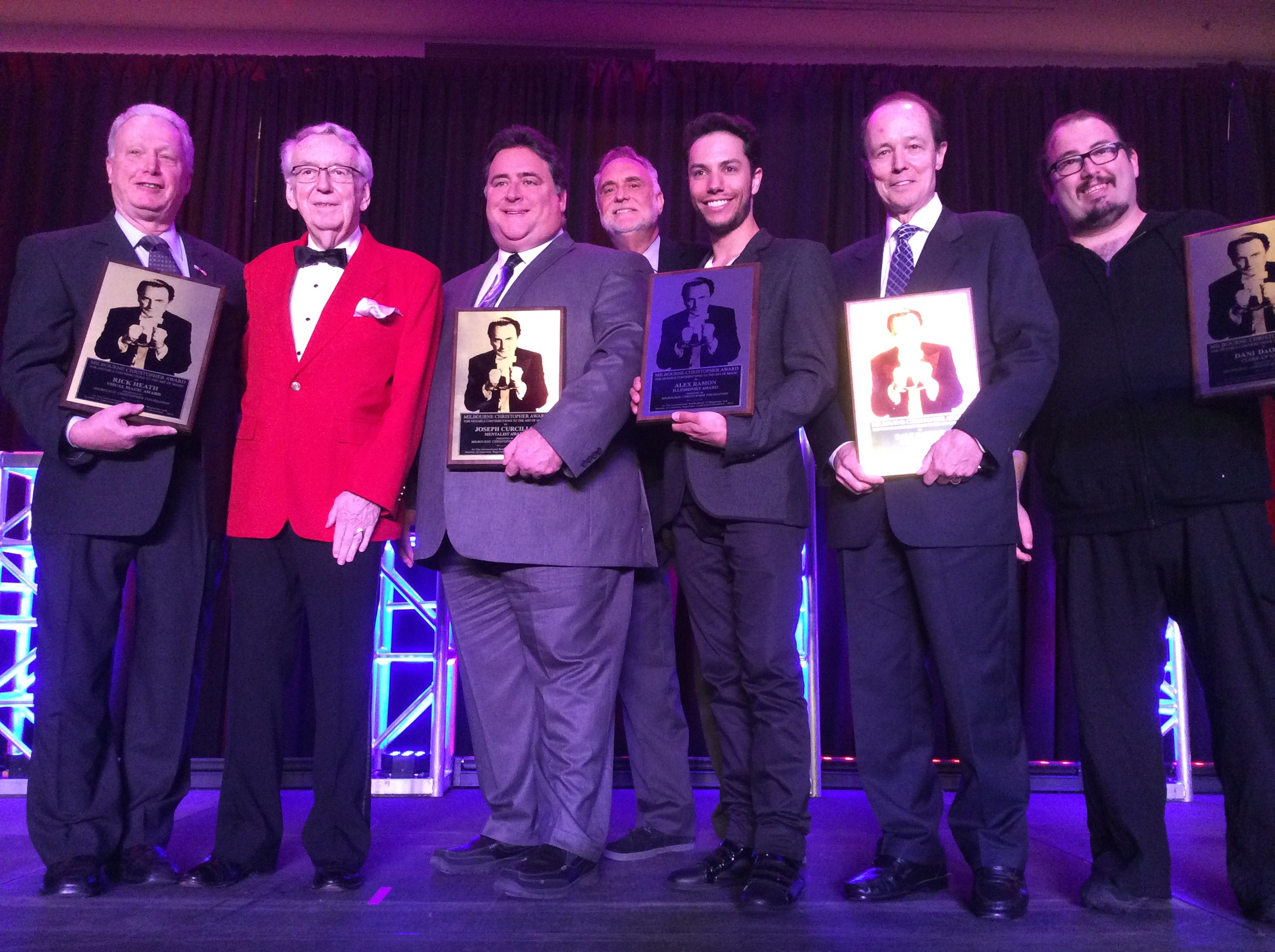 Milbourne Christopher Award Recipients