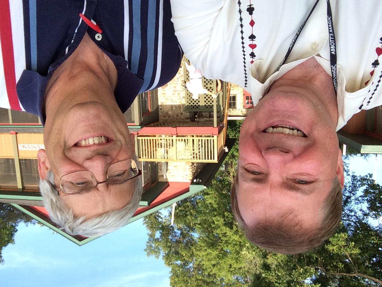Scott with Greg Bordner