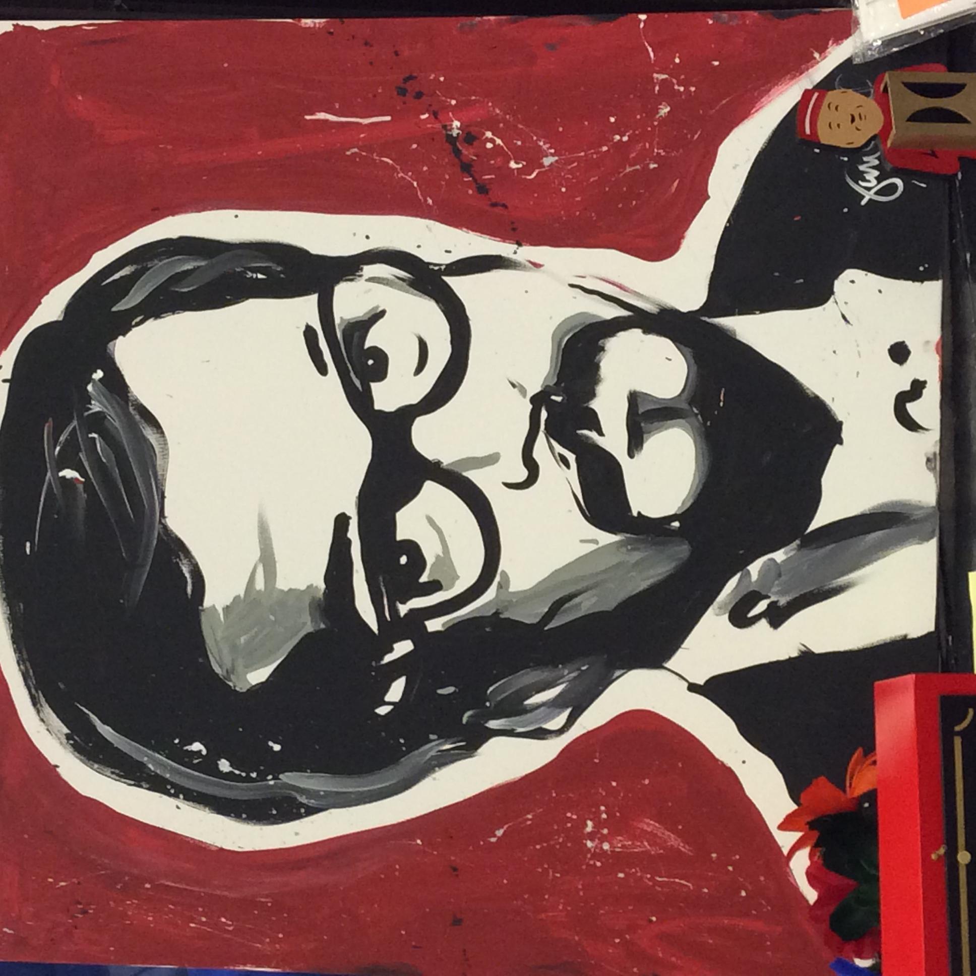 Janski's painting of Blackstone, Jr.