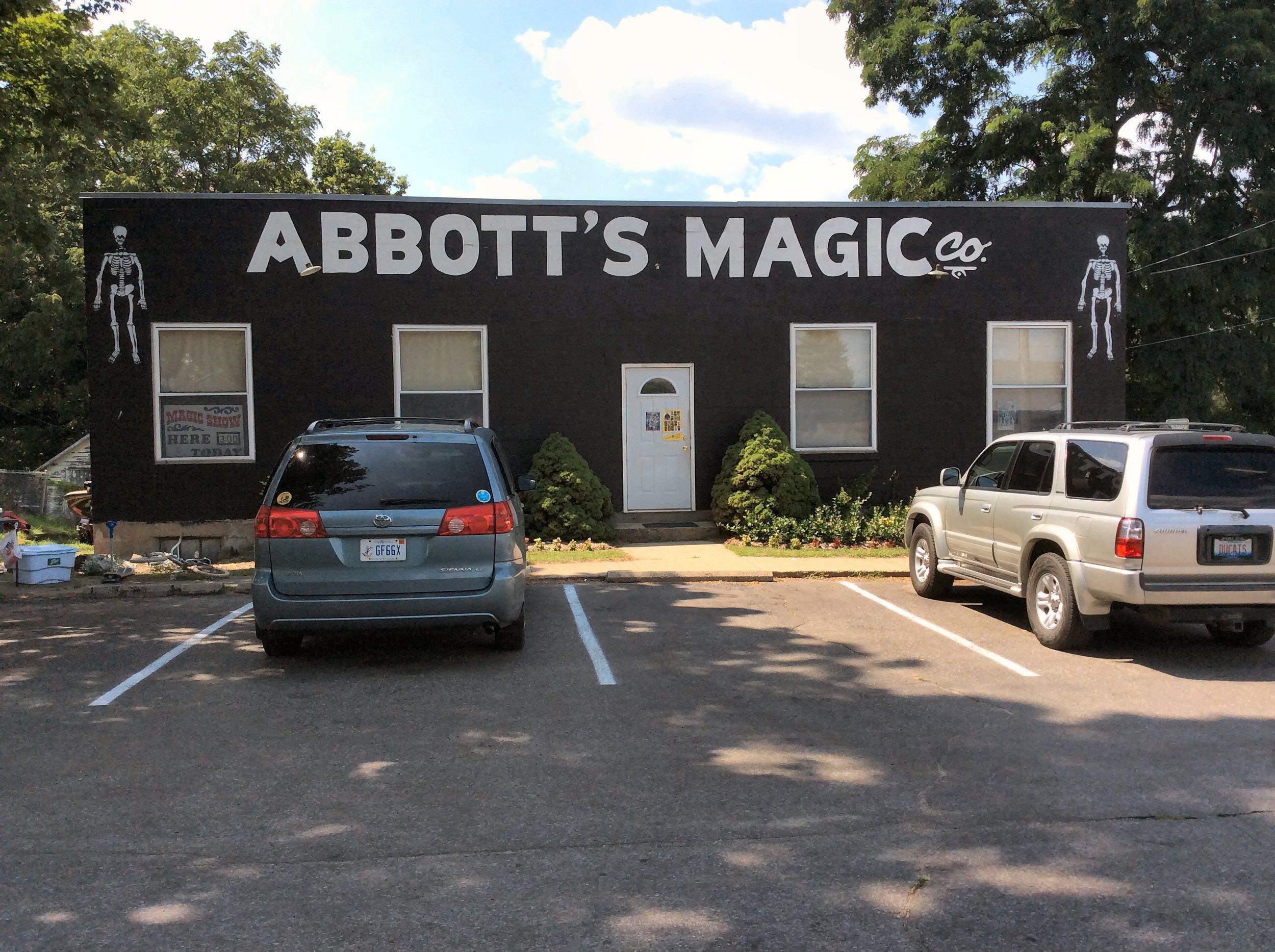 Abbott's Magic Company store front