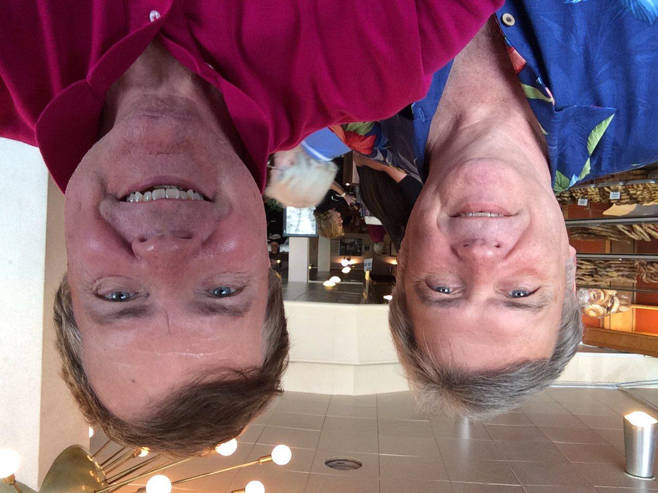 Tom & Scott at Canter's Deli