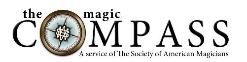 The Magic Compass brings you Breaking Magic News, Viral Videos, Exclusive Offers and Specials, Magic in the Media, Links to Hot Topic Blogs, Podcasts, Regular Webcasts Contests and Polls. You can follow this page at  http://www.magic-compass.com  or clicking on the banner above.