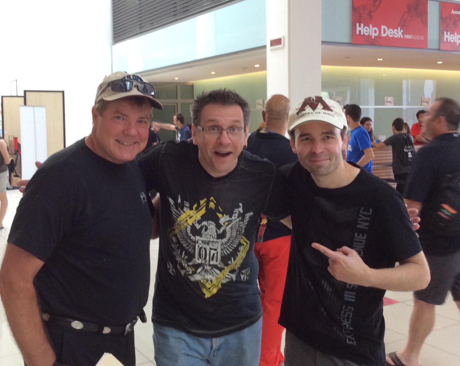 Scott, Shawn Farquhar & Craig Mitchell