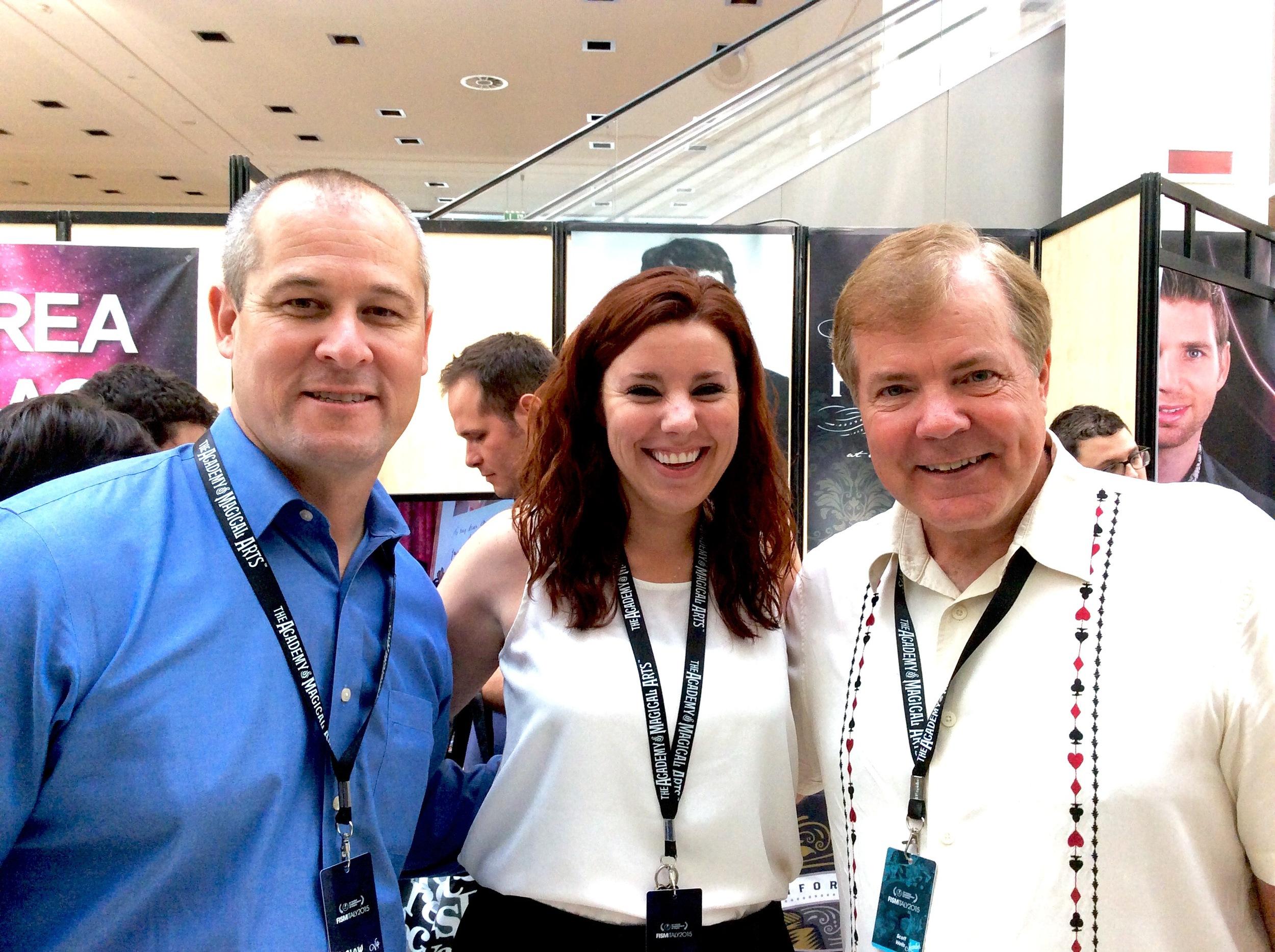 Joe Furlow, Trish Alaskey & Scott