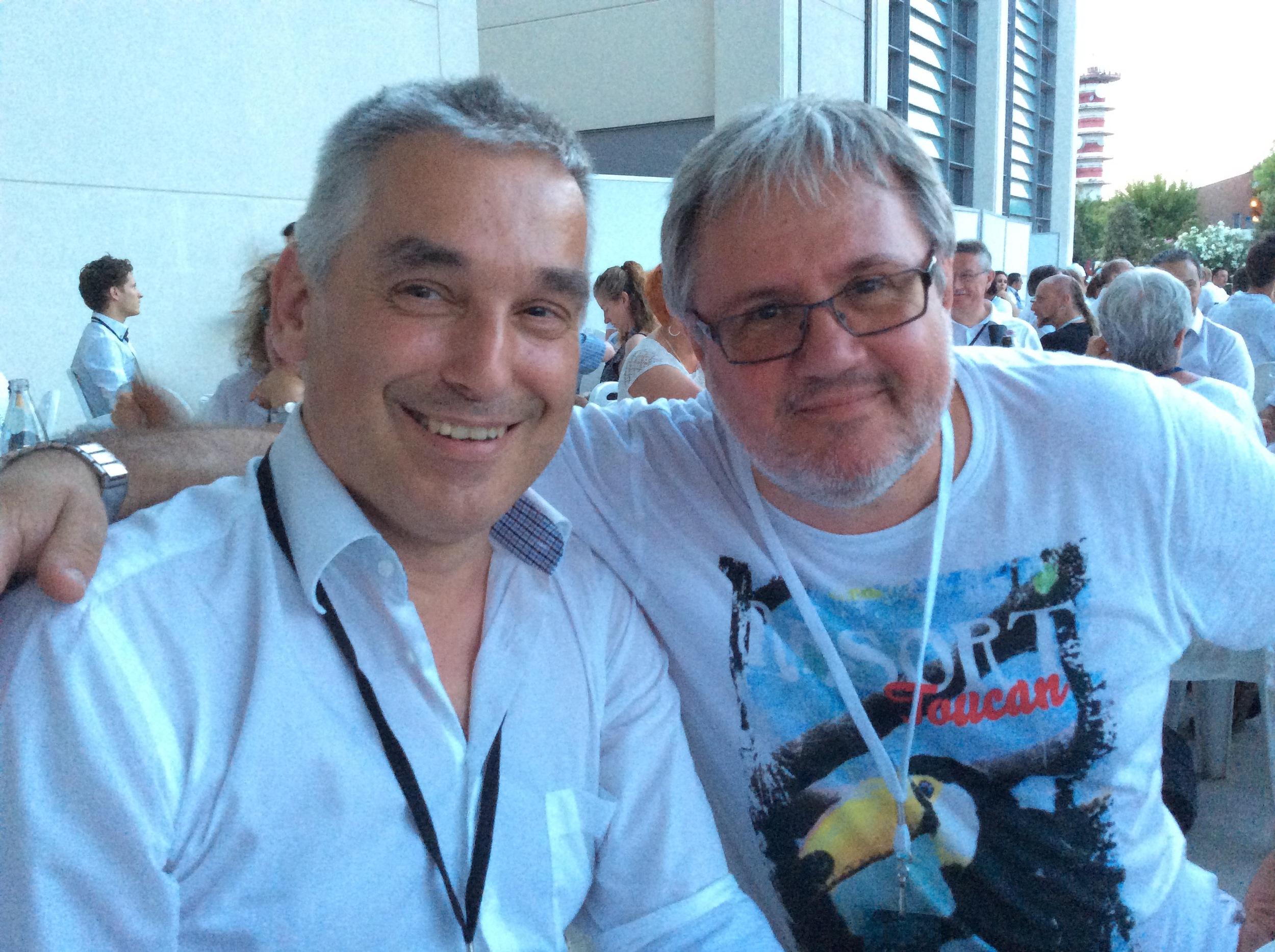 """Mecki"" Ludwig Ganter & Peter Pudill from Austria"