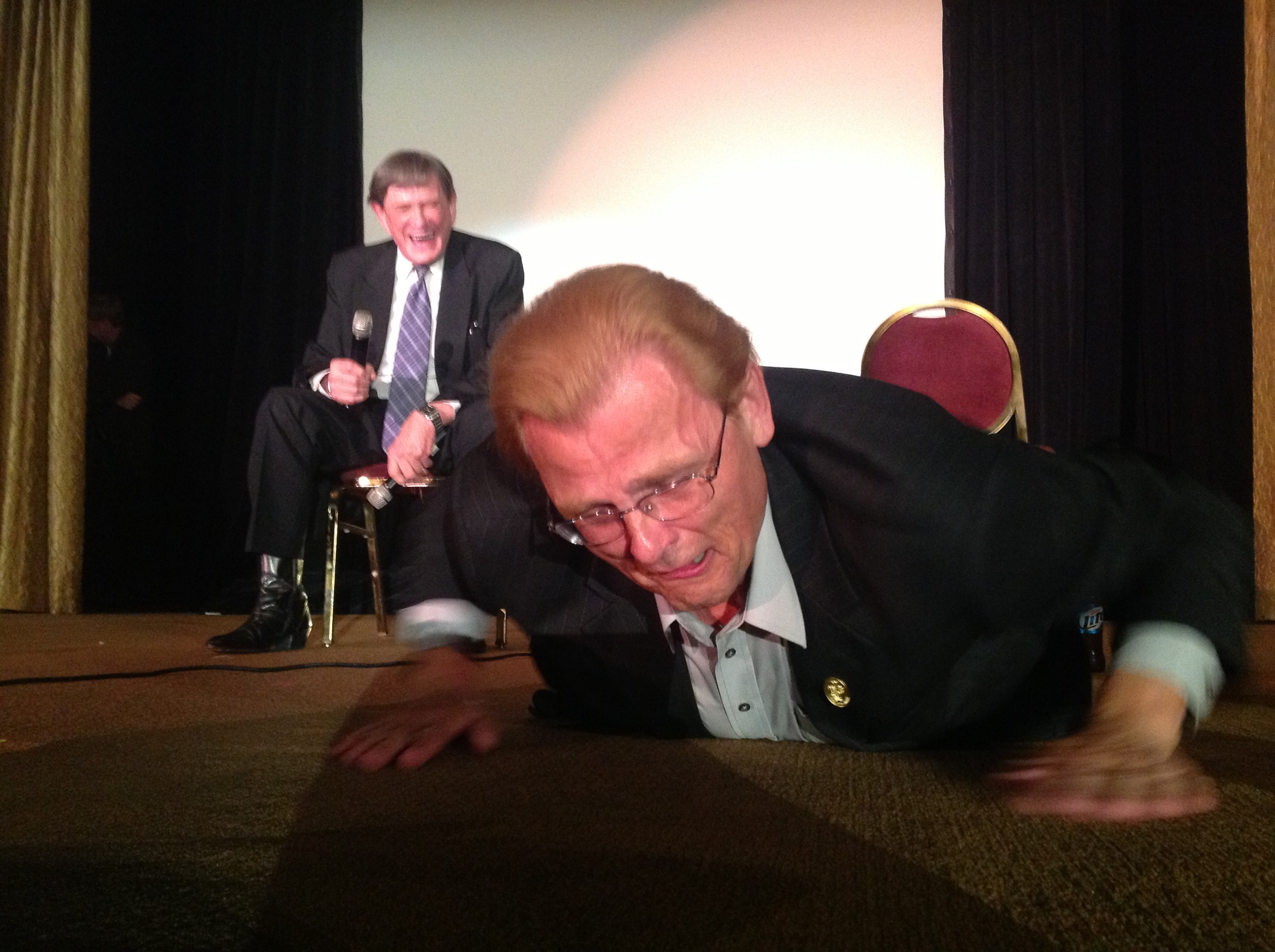 A Funny Moment at the 2013 T.A.O.M. convention