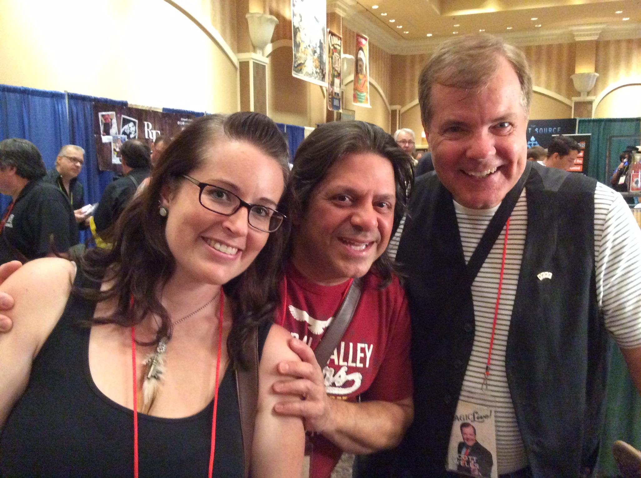 Carol and Steve Chezaday with Scott