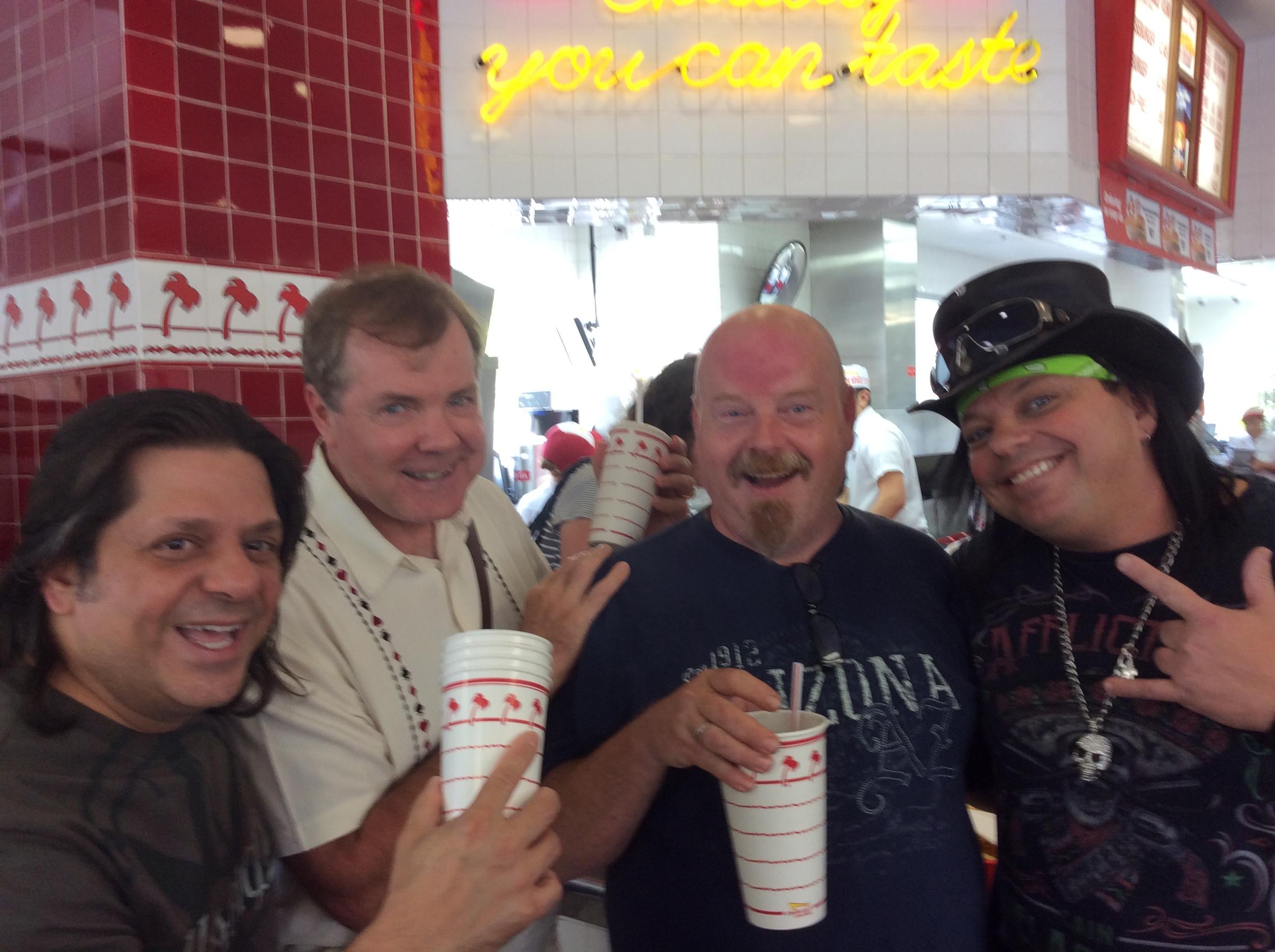 Steve Chezaday, Scott, Lanny Kibbey and Michael Trixx
