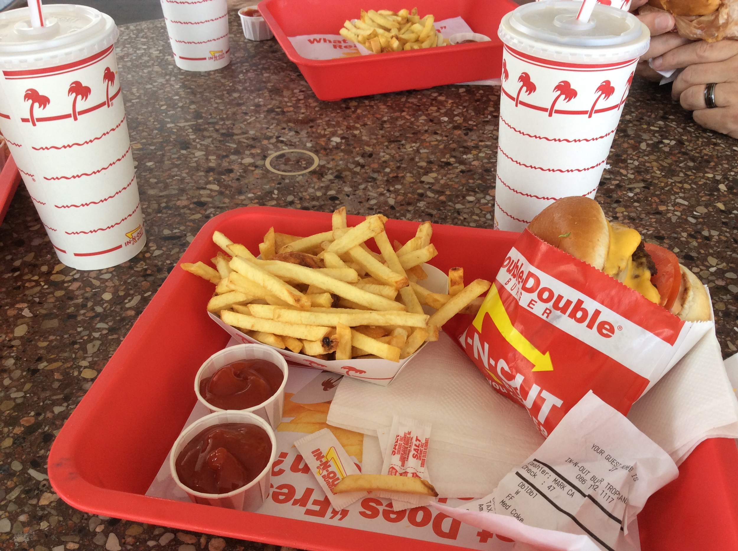 A Las Vegas Required place to dine: In-n-Out