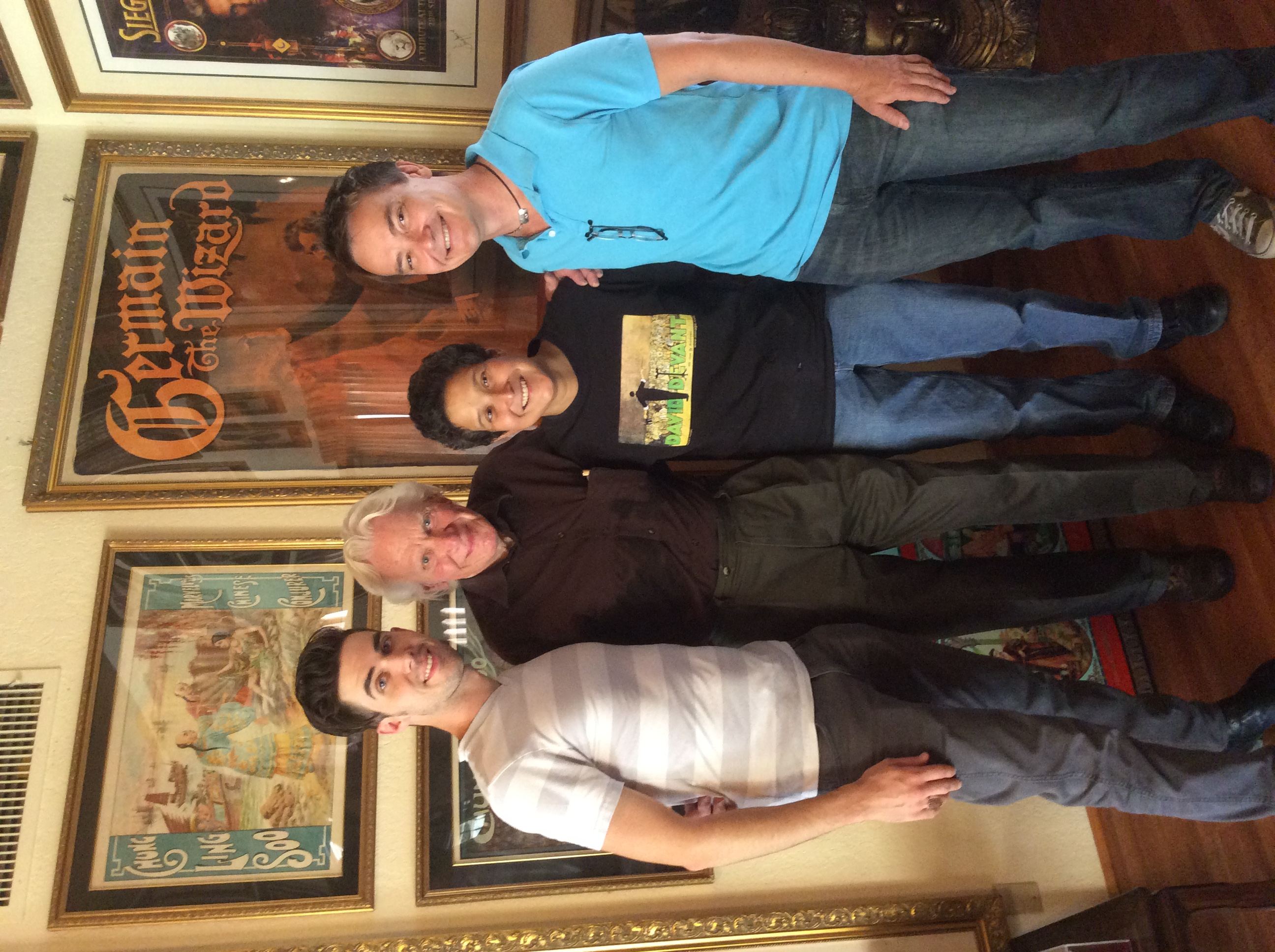 Lance Rich, Norm, Lupe & David Sandy