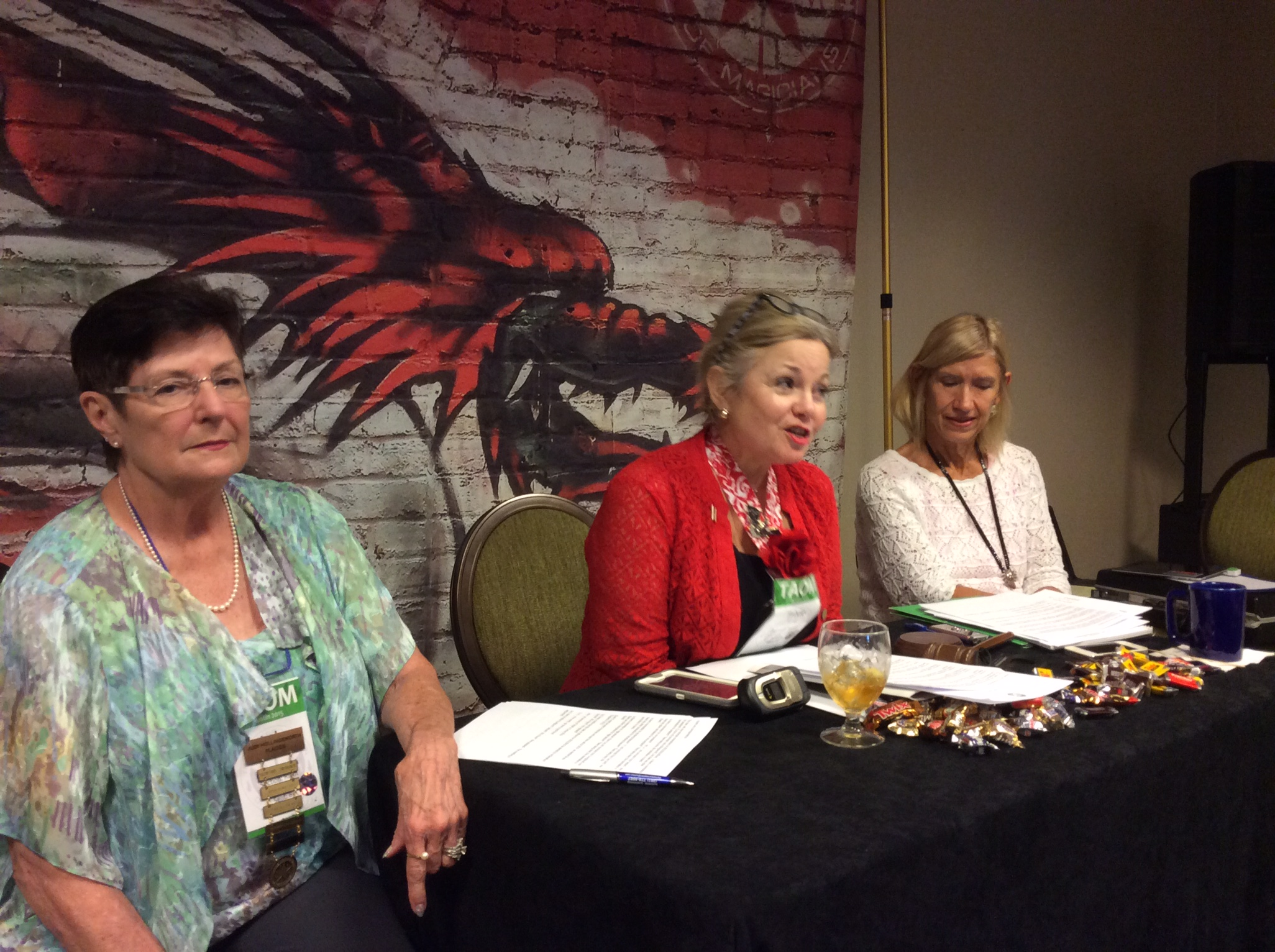 Judy Hollingsworth, Trixie Bond and Mary Cay Patterson