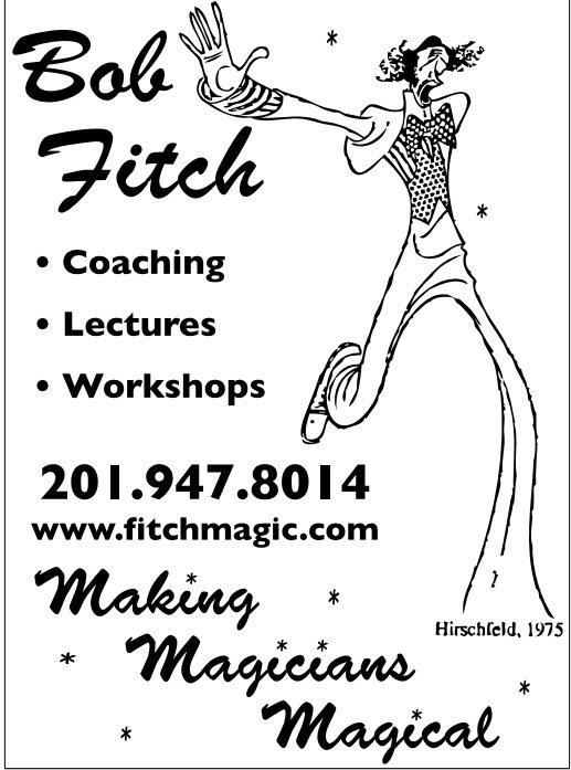 Hirschfeld Drawing of Bob Fitch