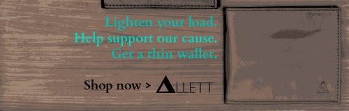 The thinnest wallet in the world. I have one and recommend that you get one, too. You can thank me later.