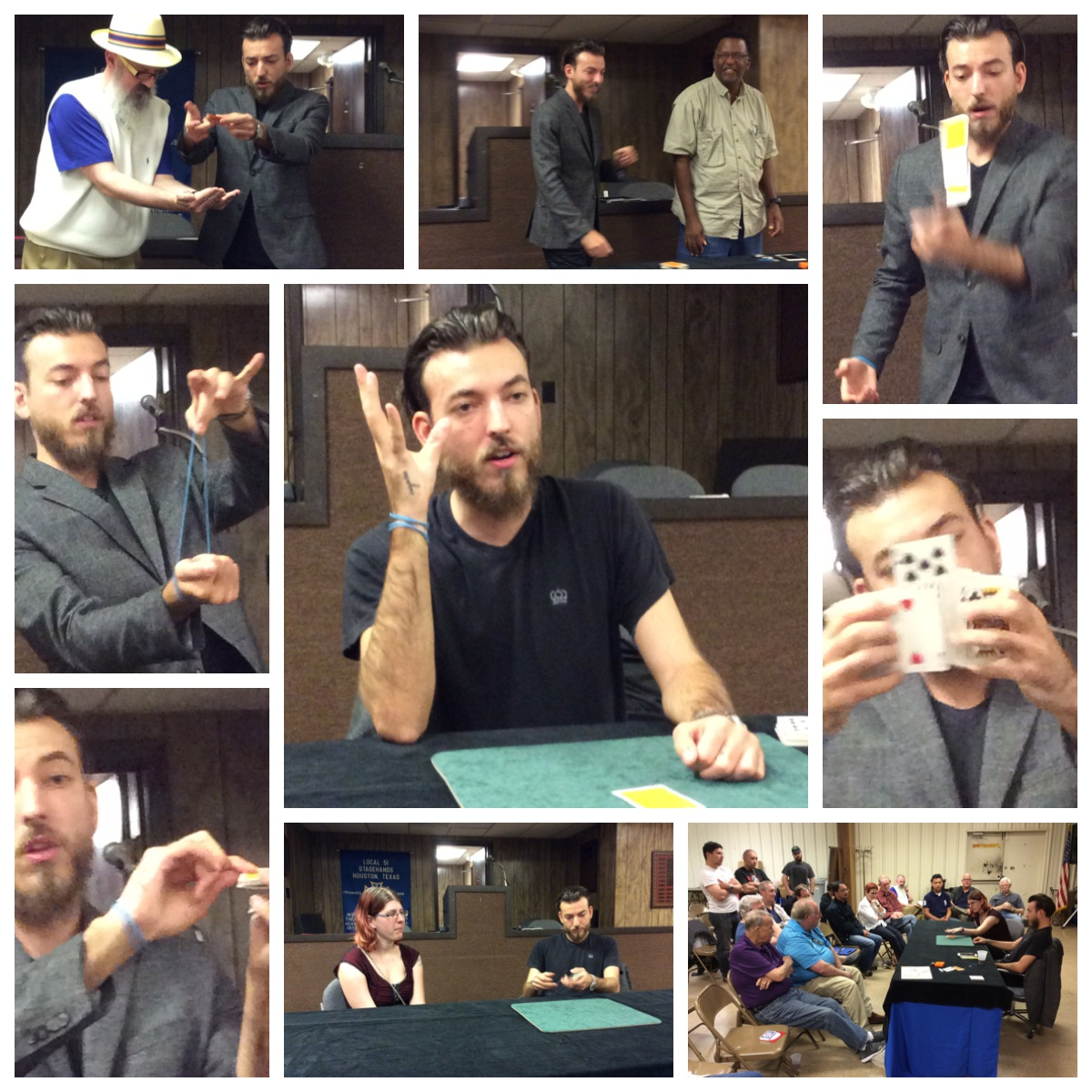 Lecture for Houston Association of Magicians