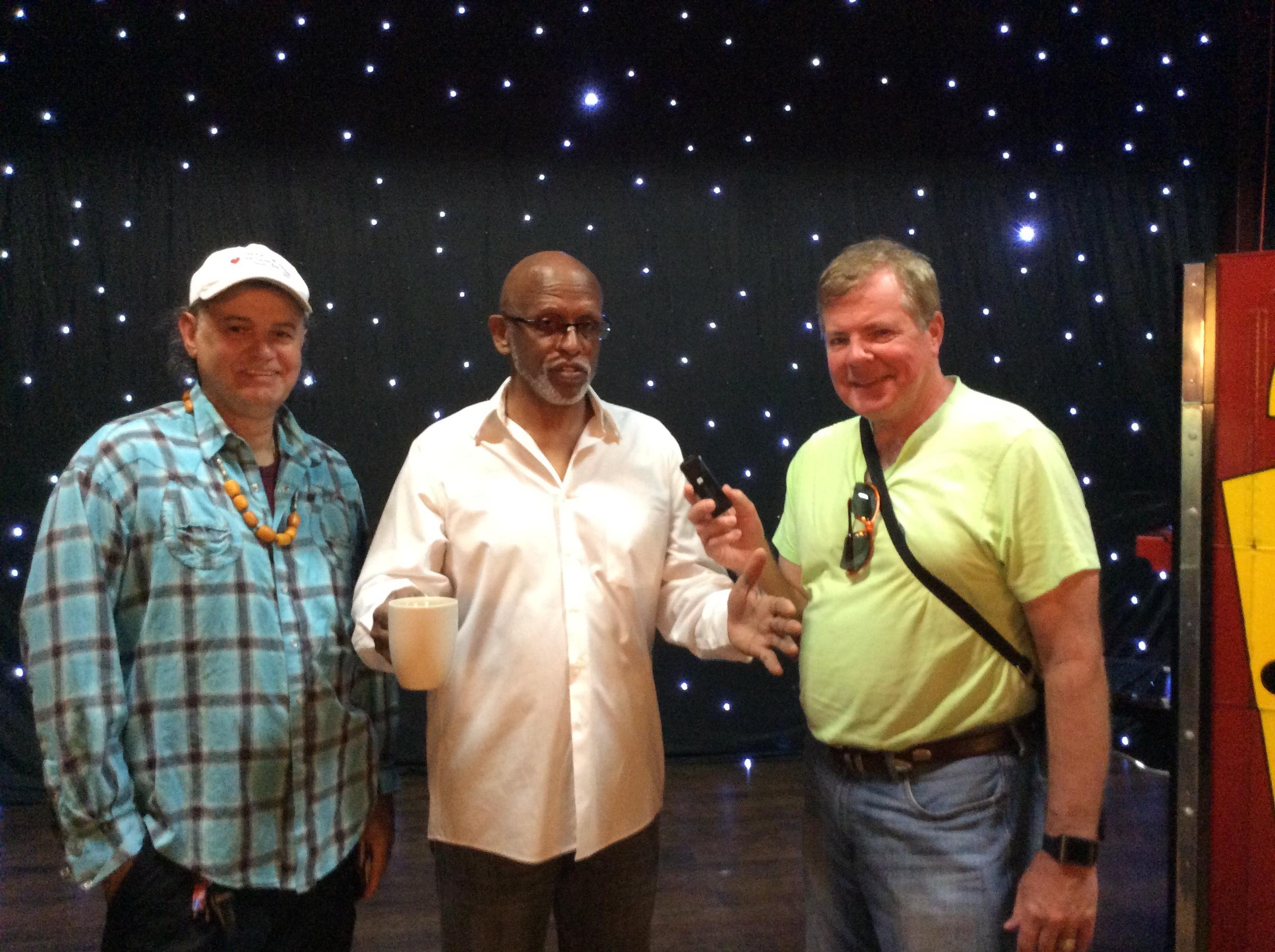 Arsene DuPin, Johnny Magic and Scott Wells