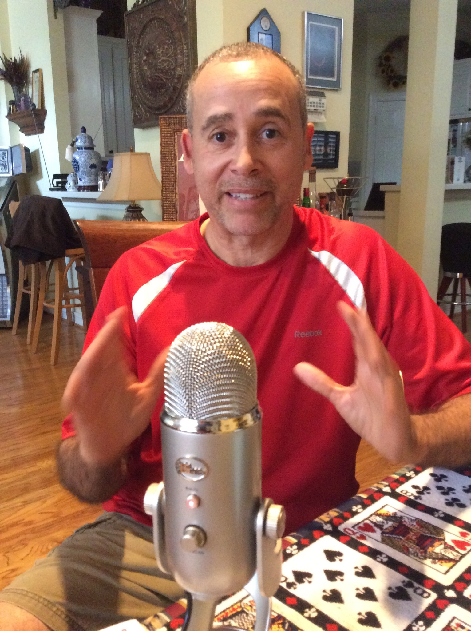 Carl Andrews chats on The Magic Word Podcast