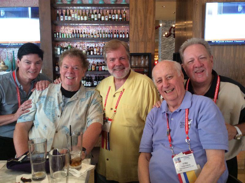 Ray Anderson, Nick Lewin, Scott Wells, Obie O'Brien, Michael FInney