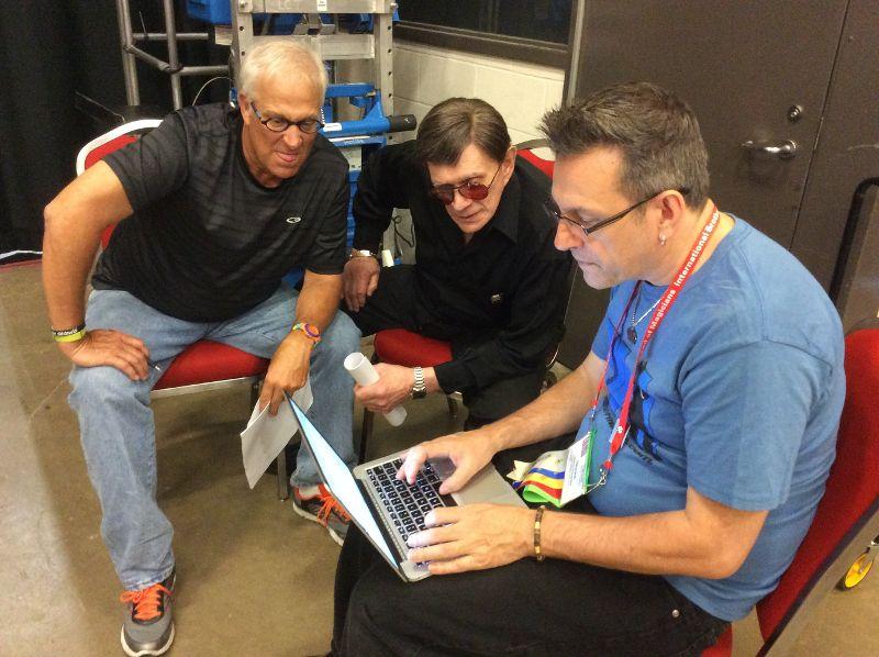Steven Bargatze, Johnny Thompson and Shawn Farquhar