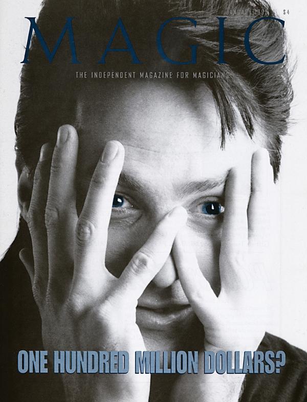 January 1995 MAGIC Magazine Cover