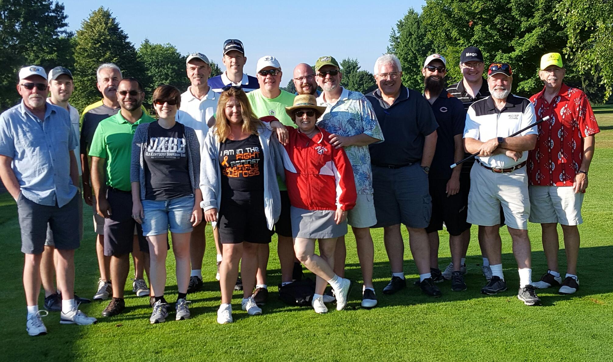 Colon Open Golfers