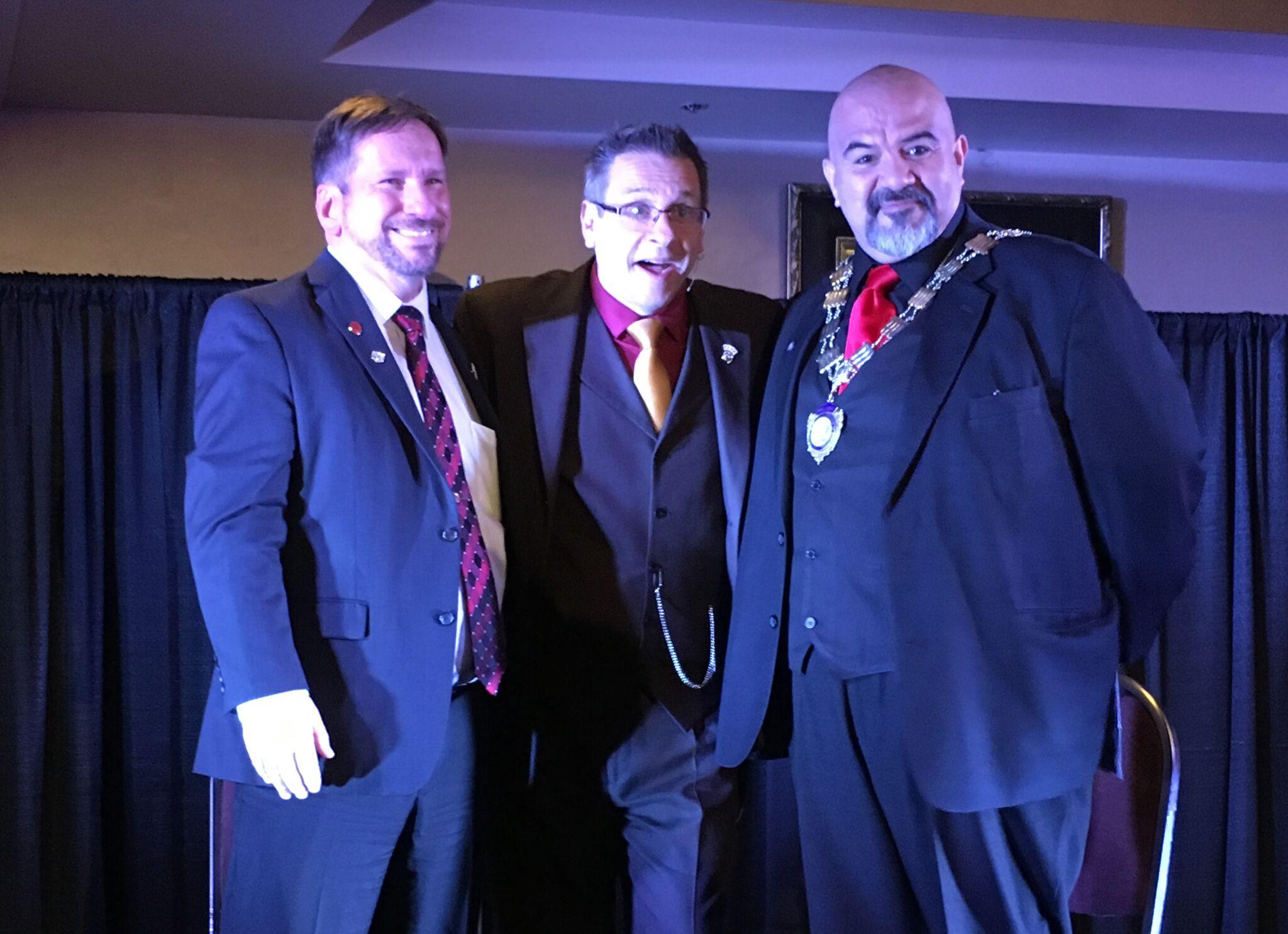 Jeff Sikora, Shawn Farquhar and Oscar Munoz