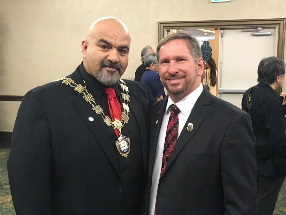 Oscar Munoz and Jeff Sikora