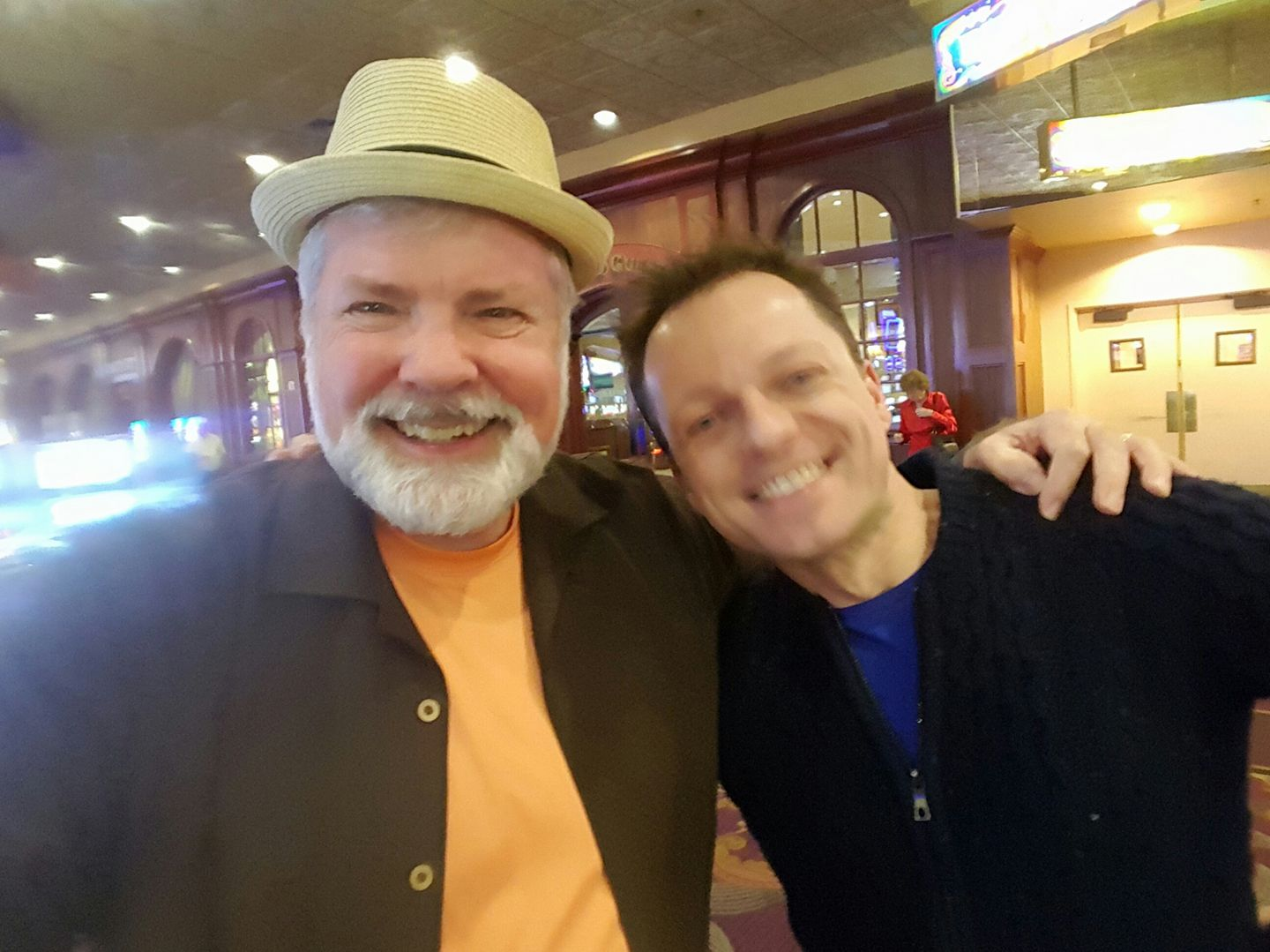 Scotty and Timo at the Orleans Hotel & Casino
