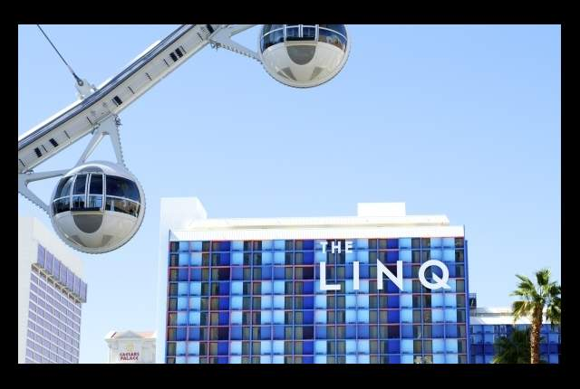 Click the graphic above to visit The Linq, get directions, make hotel and show reservations.