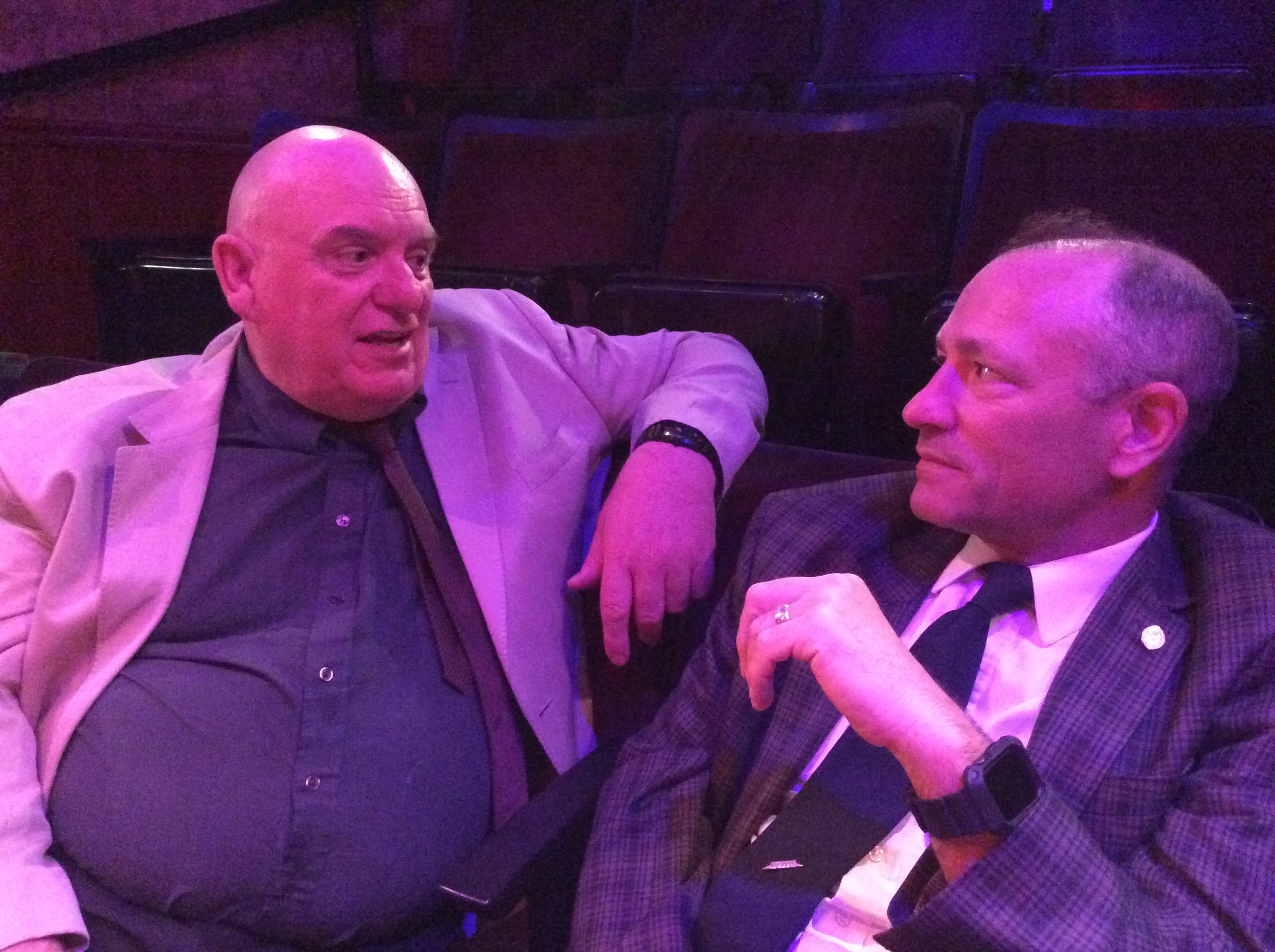 Martin Cox and John Greybeal
